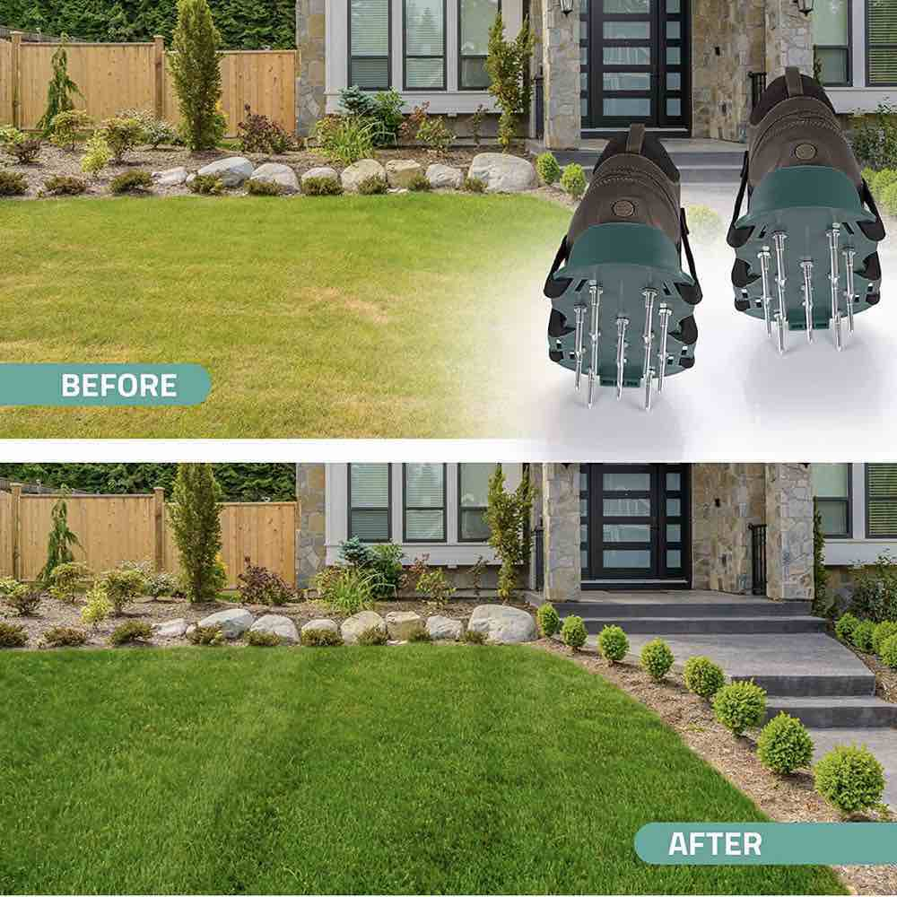 aerator shoes for lawn