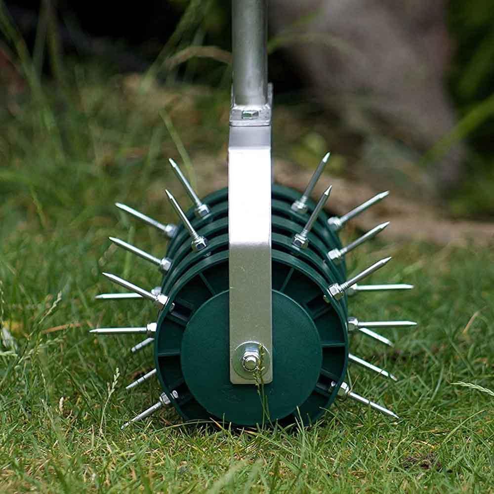 buy rolling lawn aerator